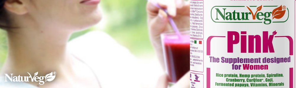 Naturveg Pink Integratore Proteine Vegetali