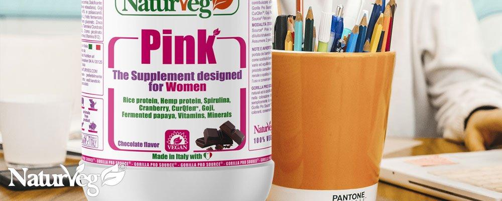 Naturveg Pink - Proteine vegetali naturveg