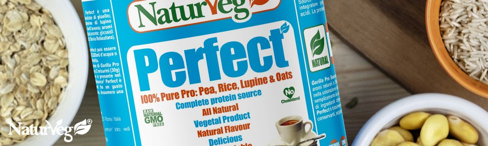 Naturveg Perfect Integratore vegan proteine
