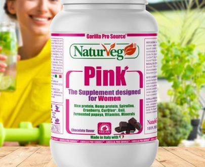 Naturveg Pink - Integratore Proteine per Lei