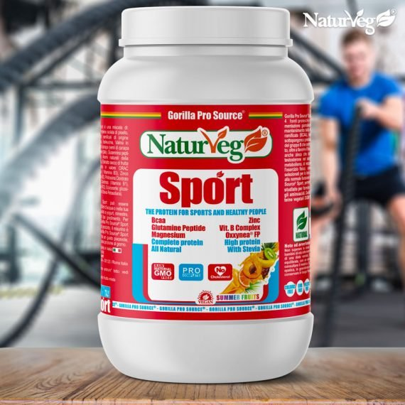 Naturveg Sport - Proteine Vegane per Sportivi